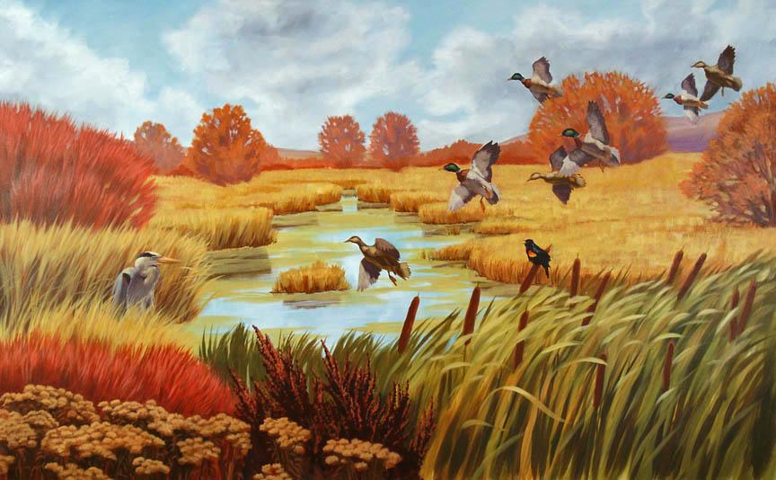 Horicon Marsh Mural